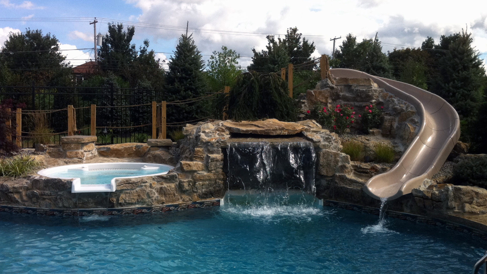 Custom Rock Waterfalls Nj Lee Santos